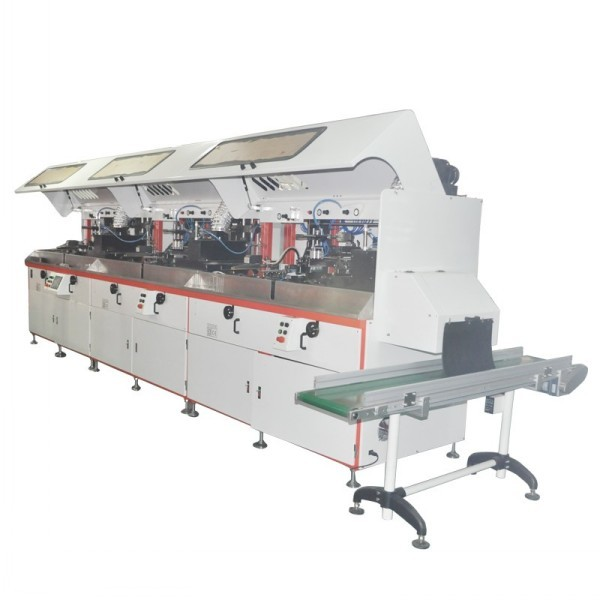 Automatic Screen Printing machine with uv system